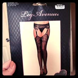 Leg Avenue stockings new in box. One size